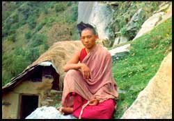When Nawang was hermit meditator in Himalaya